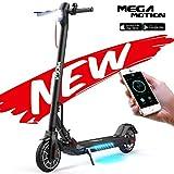 Mega Motion E- Scooter Portátil Patinete Eléctrico Plegable de 8.5 Pulgadas...