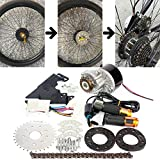 L-faster 24V36V250W Electric Conversion Kit for Common Bike Left Chain Drive...
