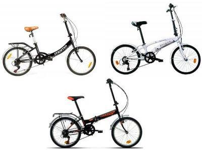 Bicicletas Plegables de 20 pulgadas