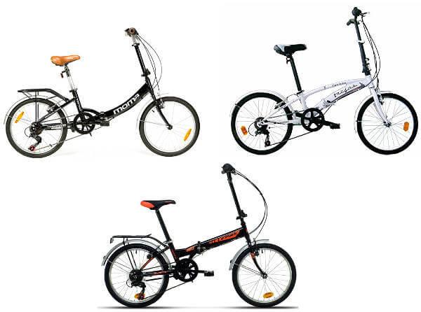 Bicicletas Plegables de 20