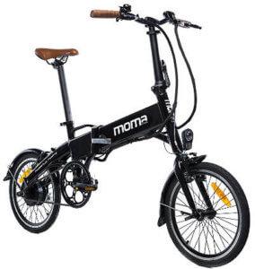 Bicicleta Eléctrica Moma E-16 Teen