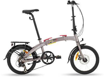 Bicicleta Plegable bh ibiza pro